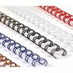Пружини для біндерів металеві форматні