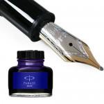 Ручки пір'яні, чорнила