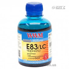 Чорнило Epson T081, WWM, 200 г., light cyan, (E83/LC)