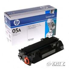 Картридж HP LJ CE505A (№ 05A), black