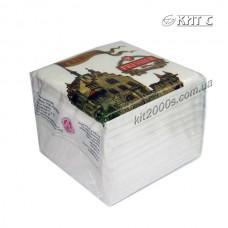 Серветка паперова (100арк/пач) біла PRIMIER