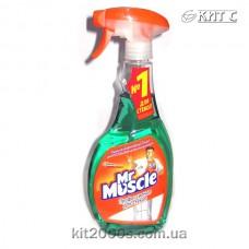 Засіб для миття скла з розприскувачем Містер Мускул зелений 500 мл
