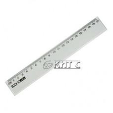 Лінійка пластик прозора 20см Economix E81303