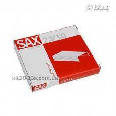 Скоби для степлера № 23/10 SAX 1000шт/паков