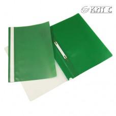 Швидкозшивач пластик. ESSELTE Holder File А4, зел.