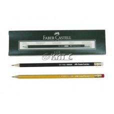 Олівець чорнографітний Faber-Castell 1112 HB, з гумкою