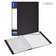 Папка з файлами A4 10 файлів Economix чорна