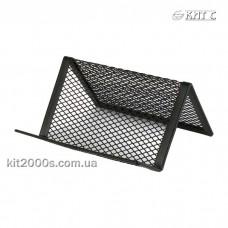 Підставка для візиток AXENT 2114-01-A сітка металева 95x80x60мм чорна