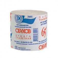 Папір туалетний Обухів 65м, сірий