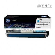 Заправка картриджа HP CLJ CP1025 (CE311A), cyan