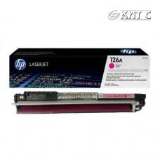 Заправка картриджа HP CLJ CP1025 (CE313A), magenta