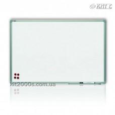 Дошка для маркера сух/маг настінна 90x120см ALU23 (полка+маркер+3 магніта) тм2X3 TSA129