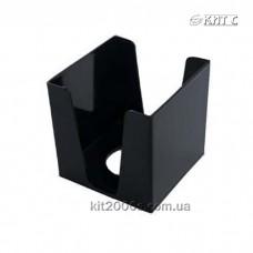 Бокс для паперу 90x90x90 пластик. чорний КіП