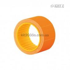 Цінник прямокутний кольоровий 30x20мм (200шт) E21308-06 помаранчевий