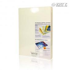 Обкладинка для біндера картон А4 250г біла Agent 100шт/пач