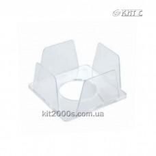 Бокс для паперу 90x90x45 пластик. прозорий КіП