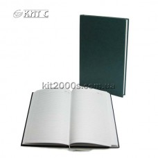 Щоденник недат А5 Полиграфист 232 05 40 зел Баладек лiн 128ар 143х202