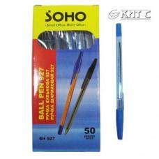 Ручка кулькова SOHO 927 син.