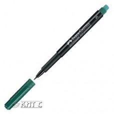 Маркер перманентний FaberCastell 1523 «S» 0,4 мм зелений
