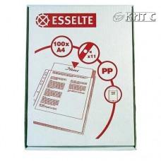Файл прозорий А4 Esselte щільний, 105мк., В картоні (56093) 100 шт/паков