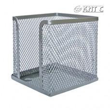 Бокс для паперу 90x90x90 металевий AXENT 2112-03А сріблястий