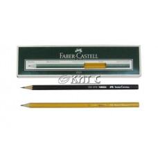 Олівець чорнографітний Faber-Castell 1111 2B, без гумки