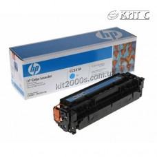 Заправка картриджа HP CLJ CP2025 (CС531A), cyan