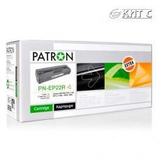 Картридж Canon EP-22 (PN-EP22R), PATRON Extra, black
