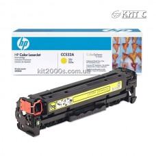 Заправка картриджа HP CLJ CP2025 (CС532A), yellow