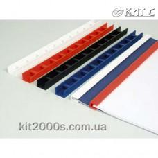 Пластини для палітурних робіт Press-Binder 3мм чорні, 50шт/пач