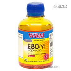Чорнило Epson T673 WWM 200г yellow (E80/Y)