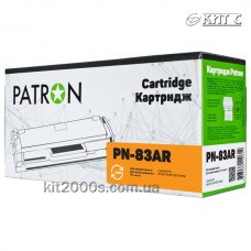 Картридж HP LJ CF283A №83A (PN-83AR), PATRON Extra, black
