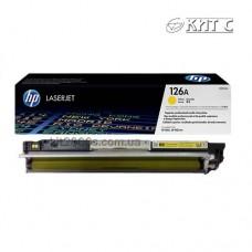 Заправка картриджа HP CLJ CP1025 (CE312A), yellow