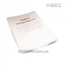 Книга канцелярська А4 48 арк. в м'якій обкладинці газетка клітинка Брiск КВ-1