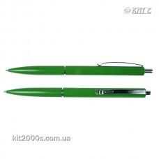 Ручка кулькова автоматична Schneider S930804 К15 сині чорнила, корпус зелений