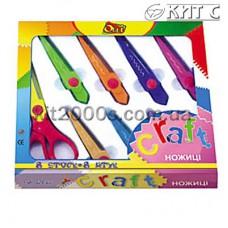Ножиці дитячі Olli CRAFT OLS-08, набір з 8шт змінних лез