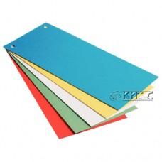 Роздільник-закладинки картонні 100шт/уп ESSELTE 20996 сині
