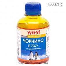 Чорнило Epson T073, WWM, 200 г., yellow, (E73/Y)