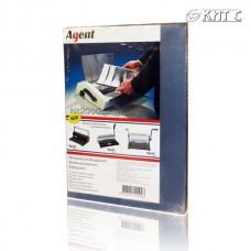 Обкладинка для біндера пластикова прозора A4 150мк безбарвна 100арк/пачка