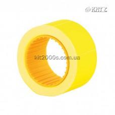 Цінник прямокутний кольоровий 30x40мм (150шт) E21309-05 жовтий