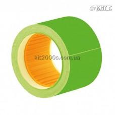 Цінник прямокутний кольоровий 40x50мм (100шт) E21310-04 зелений