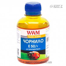 Чорнило Epson Universal Photo, жовте, (200gr,WWM), E50/Y