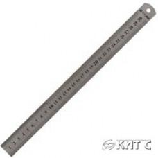Лінійка металева сталева 30см.