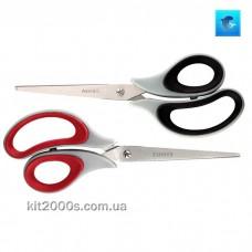 Ножиці Axent Soft Duoton 6102 21см з гумовими вставками