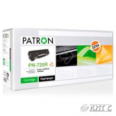 Картридж Canon 725 (PN-725R), PATRON Extra, black