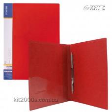 Папка-швидкозшивач А4 з кишенею Economix Light E31207-03 червона
