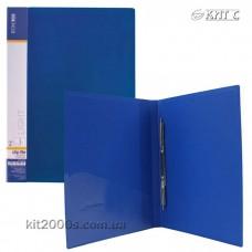 Папка-швидкозшивач А4 з кишенею Economix Light E31207-02 синя