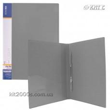 Папка-швидкозшивач А4 з кишенею Economix Light E31207-10 сіра