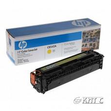 Заправка картриджа HP CLJ CP1215 (CB542A), yellow