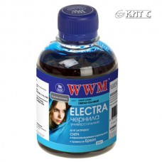 Чорнило Epson Stylus Universal ELECTRA, WWM, 200г., light cyan, (EU/LC)